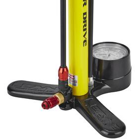 Lezyne Steel Floor Drive Standluftpumpe gelb